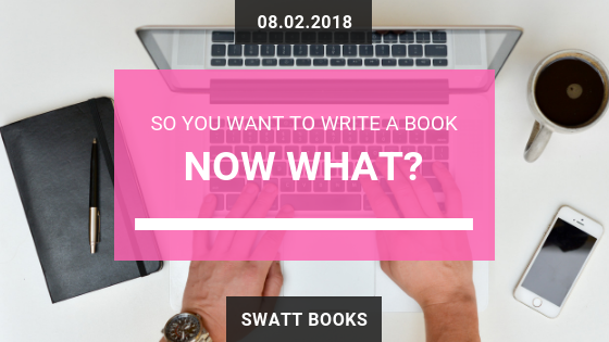 So you want to write a book – NOW WHAT?