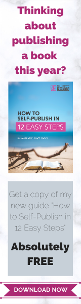 How to Self-Publish in 12 Easy Steps Advert