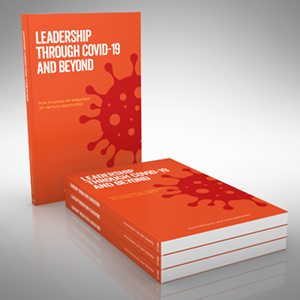 Leadership Through COVID-19 and Beyond Cover
