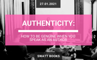 Authenticity: how to be genuine when you speak as an author